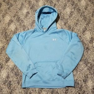 Under Armour Women's Small Hoodie Blue Sweatshirt